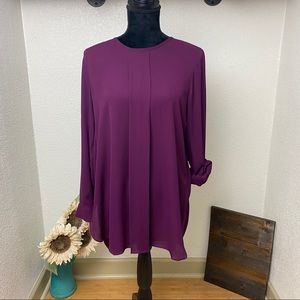 Beautiful Vince Camuto Blouse - Plum - MED